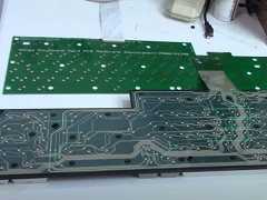 10 MARC - Hard PCB Keyboard Membrane Amiga 1200