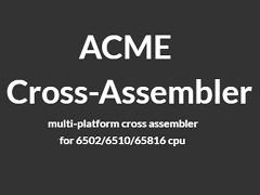 ACME Cross-Assembler v0.97