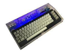 Acryl Retro Computer Gehäuse