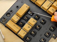 Adrian Black - C128  Tastatur Reparatur