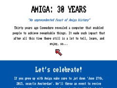 Amiga: 30 Years