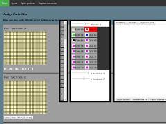 Amiga Font editor - online