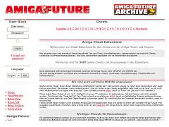 Amiga Future - Cheats Database