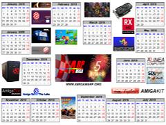 Amiga WARP kalendarz 2019