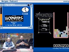Amigos podcast - Wormtris & Megaball