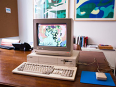 The Andy Warhol Museum Amiga Exhibit