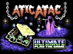 Atic Atac - Plus/4