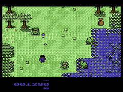 Battle in the Woods - C64