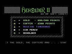 Beholder II- C64