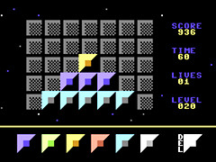 Brain Bricks - C64