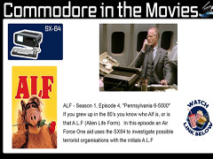 Bread Box - Commodore in the movies