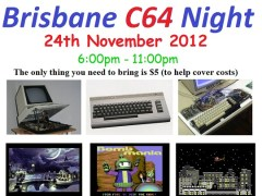 Brisbane C64 Night 2012