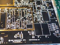 Bwack - C64 KU Motherboard replica
