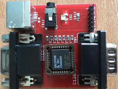 80 column CGA to RGB converter