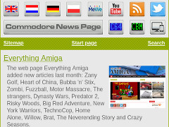 Mobile news pages