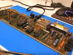 CRG - C64c repair