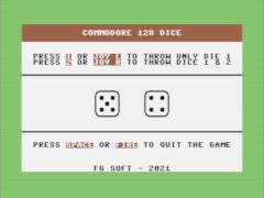 8-bit Dice - C128