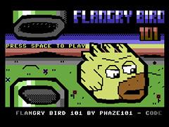 Flangry Bird 101 - C64