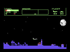 Flying Saucers - C64