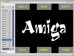 FontWalker v1.1 - Amiga
