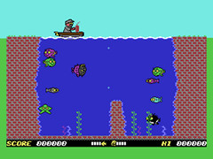 Freaky Fish DX - C64