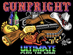 Gunfright v1.10 - C64/128 & Plus/4