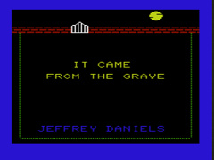 It Came From the Grave - VIC20