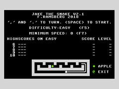 Jake the Snake v3.0 - C64