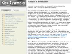 Kick Assembler v4.19