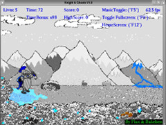 Knight & Ghosts - Amiga