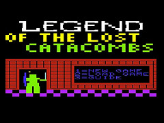 Legend of the Lost Catacombs - VIC20