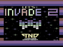 Let's Invade II - C64