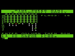 Mine Sweep Mini - VIC20