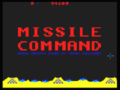 Arcade Missile Command - Amiga
