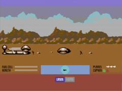 Parallaxian C64- Kickstart