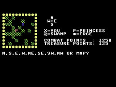 Perilous Swamp - C64