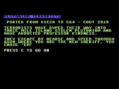 Plutonium Terrorists - C64