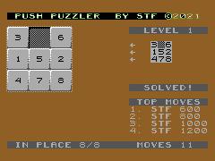 Push Puzzler - C64