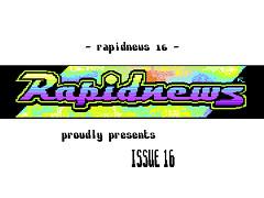 RapidNews #16