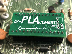 re-PLAcement Chip - C64