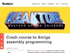 Amiga - assembly programming