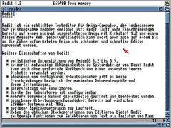 Redit v2.0 - Amiga