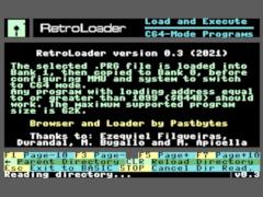 RetroLoader - C128