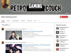 Retro Gaming Couch - CBM 3016