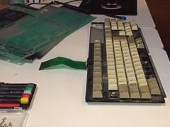 Retro Ravi - A1200 keyboard repair