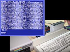 8-Bit Show & Tell - C64 Logo Pi