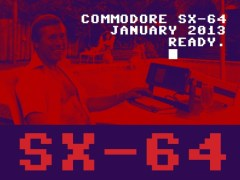 Commodore SX-64 party