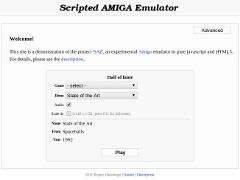 Scripted Amiga Emulator v0.9