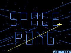 Space Pong - Plus/4