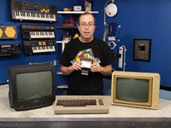 The 8-Bit Guy - 80 Columns on the C64